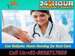 Get Best ICU Facilities by Vedanta Home Nursing Service in Boring Road, Patna