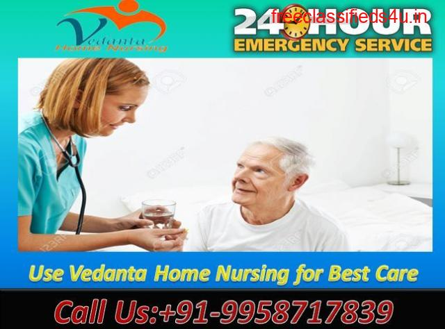 Get Vedanta Home Nursing Service in Sipara, Patna with the Best ICU facilities
