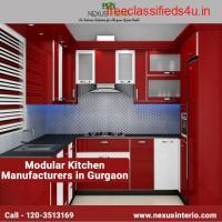 Best modular kitchen manufacturers in Gurgaon