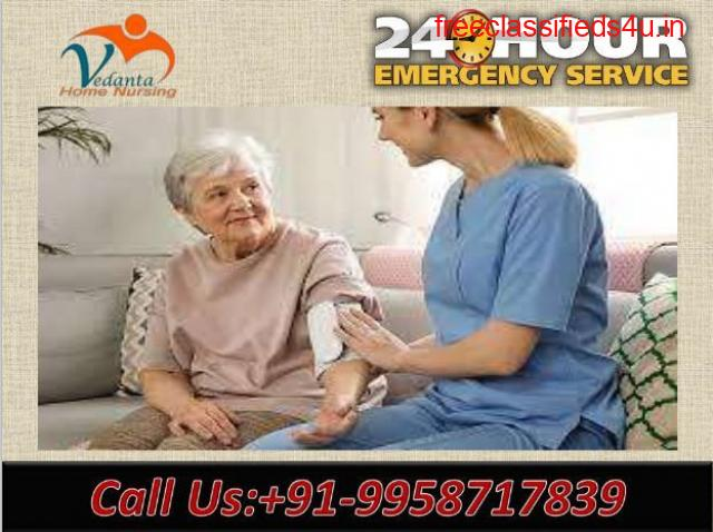 Don't Think Just Call for Vedanta Home Nursing Service in Patel Nagar