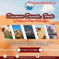 DISCOVER DESERTS, FORTS AND PALACES TOUR PACKAGE