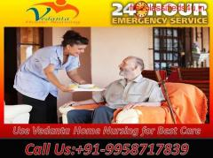 Vedanta Home Nursing Care available in Boring Road, Patna with Medical Team