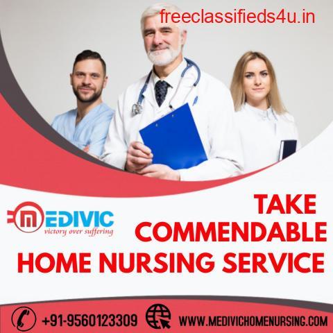 Take Medivic Home Nursing Service in Boring Road, Patna with Modern Stuff