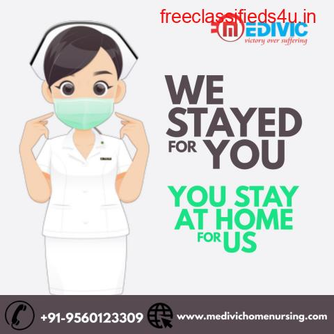 Pick Medivic Home Nursing Service in Danapur, Patna with COVID Care Aid