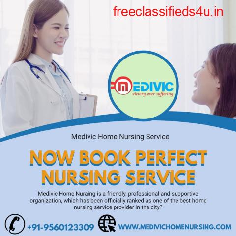 Hire Medivic Home Nursing Service in Kankarbagh, Patna for COVID Care