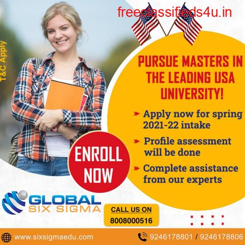 Top USA Education Consultants in Hyderabad   Global Six Sigma