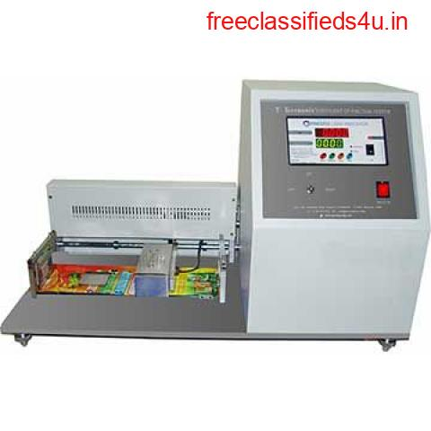 Are You Looking for CO-Efficient of Friction Tester Manufacturer Company?