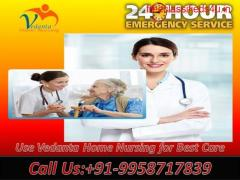 Get Home Nursing Care in Kidwaipuri, Patna by Vedanta Home Nursing