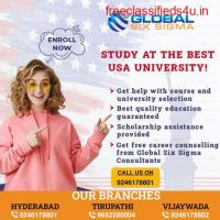 Top USA Education Consultants in Hyderabad | Global Six Sigma