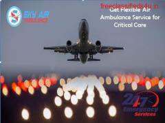 Get Sky Air Ambulance from Ranchi to Delhi with Medication Facilities