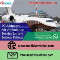Choose Hi-fi Medical Amenities by Medivic Air Ambulance Service in Along