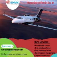 Supreme ICU Support Air Ambulance Service in Aurangabad by Medivic