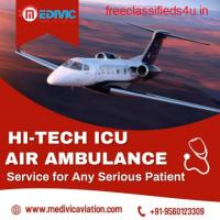 Obtain the Most Dependable Air Ambulance Service in Bhubaneswar by Medivic