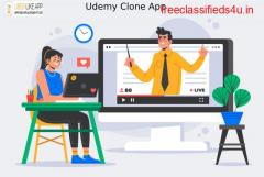 Udemy Clone – An eminent way to enter the e-learning industry