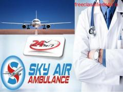 Air Ambulance from Aurangabad to Delhi is Available 24/7 by Sky Air