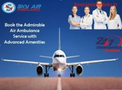 Choose Sky Air Ambulance from Chandigarh to Delhi for Quick Patient Shifting