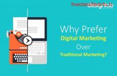 Why Prefer Digital Marketing Over Traditional Marketing?