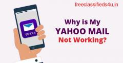 How to fix Yahoo mail not working?