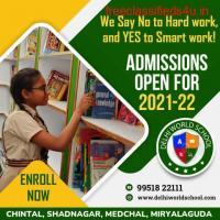 Best CBSE School Admissions in Hyderabad - Delhi World School