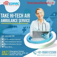 Take Super Specialist Air Ambulance Service in Bangalore by Medivic