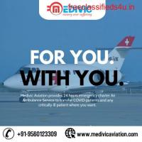 Acquire Medivic Air Ambulance Service in Delhi with Expert MD Doctors