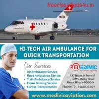 Awesome ICU Setup Special Air Ambulance Service in Patna by Medivic