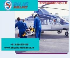 Take Sky Air Ambulance from Gaya to Delhi with Necessary Medicines