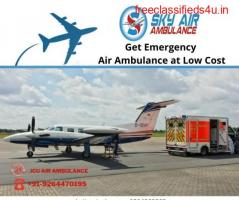 Book the Air Ambulance from Baramati to Delhi for Finest Patient Shifting