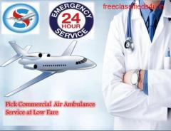 Take Emergency Air Ambulance Service in Jamshedpur by Sky