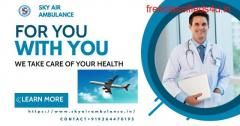 Choose the Sky Air Ambulance Service in Siliguri with Finest Medical Aid