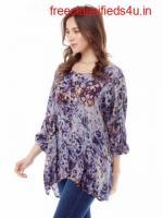 Buy Premium Washable Silk Blouse Online