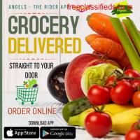 Order Grocery Online at Angels The Rider App