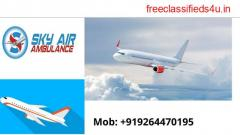 Highly Maintained Air Ambulance from Amritsar to Delhi by Sky