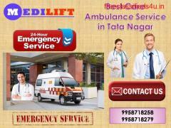 Best Care Ambulance Service in Tata Nagar by Medilift Ambulance