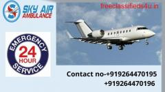 Get Safe Transportation by Sky Air Ambulance from Aurangabad to Delhi