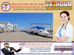 Get Reliable and Affordable Train Ambulance Services in Patna by Panchmukhi