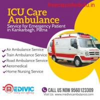 Get low price Ambulance Service in Kankarbagh, Patna by Medivic
