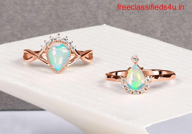 Buy Real Sterling Silver Opal Jewelry at Best price