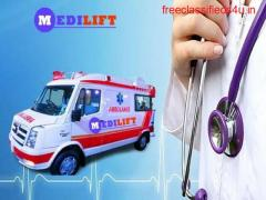 Easy to Move Ambulance Service in Pitampura –Medilift Ambulance