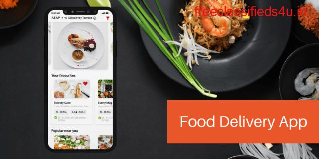 Food Delivery App Development Services