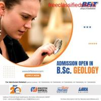 ADMISSION OPEN IN B.Sc.GEOLOGY