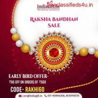 Send Best Rakhi Gifts to India from Australia