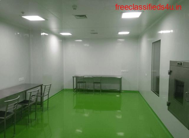 Best clean room partitions exporters in Hyderabad