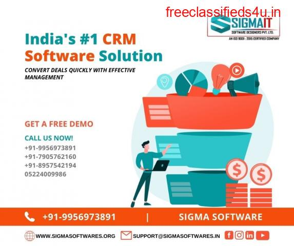 India's #1 CRM Software Solution