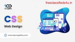 Best CSS Web Design Gallery for web designers