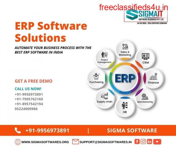 Automate Your Business Process With The Best ERP Software in India