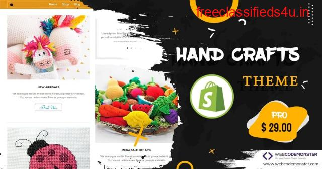 Hand Crafts PRO Shopify Theme