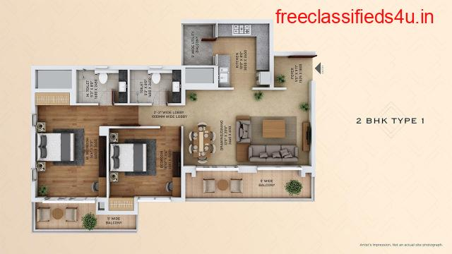 2 BHK Flats in Sector 152 Noida - ACE Starlit