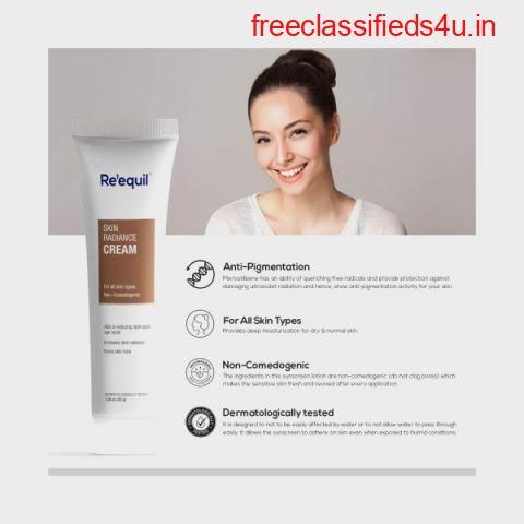 Re'equil  Skin Radiance Cream in Online - Buy online on Cureka