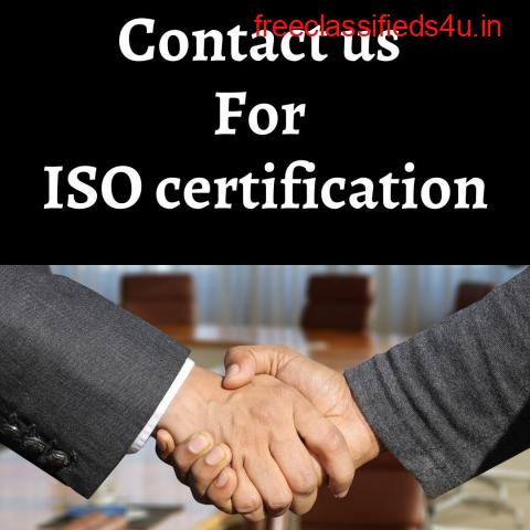 Get ISO Certification through leading consultant